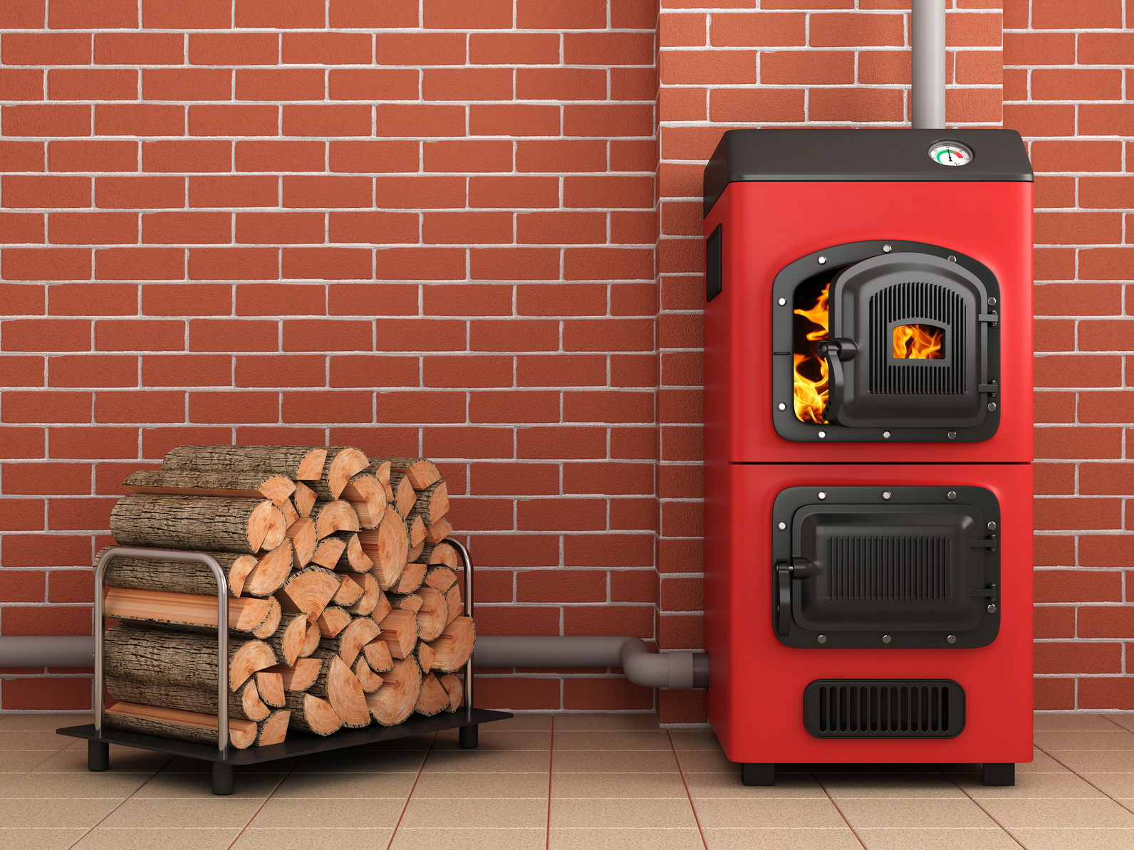 Chaudière à bois bûche BATIECOTHERM