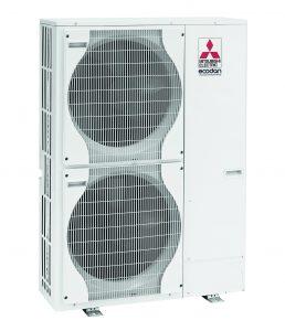 Pompes à chaleur air eau Mitsubishi Hydrobox unité exterieur