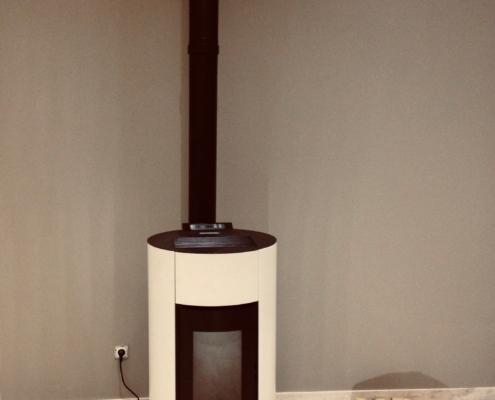 Installation d'un poêle à Ambutrix