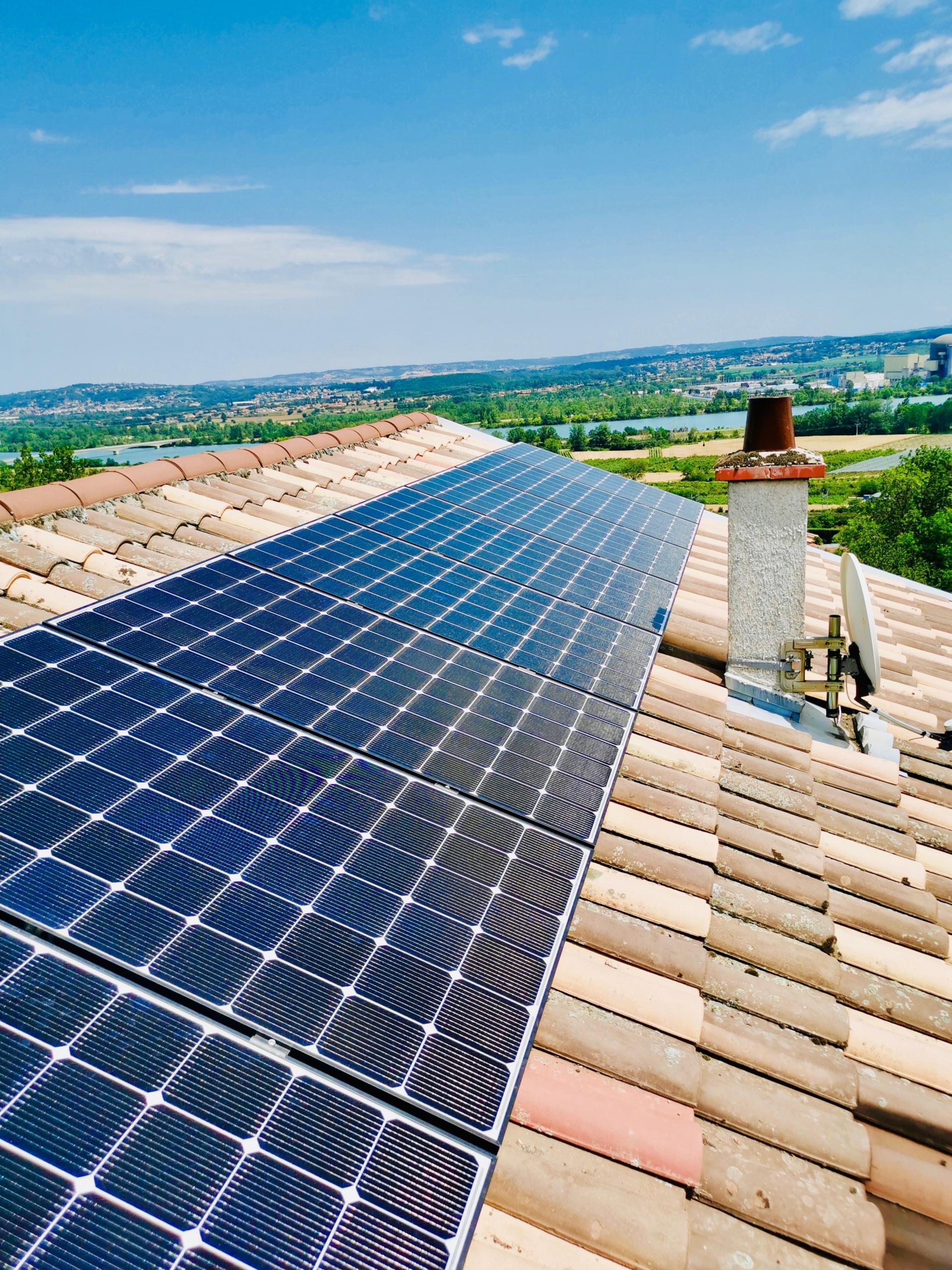 installation de panneaux solaires à Chavanay