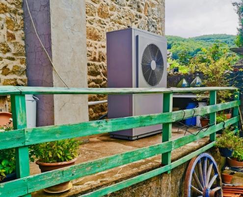 Installation d'une pompe à chaleur à Saint-Martin -en-Haut