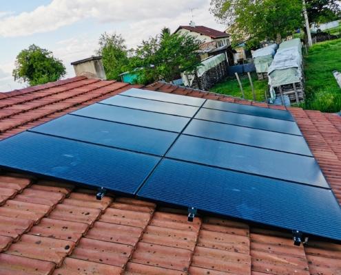 Panneaux solaires à Sermoyer